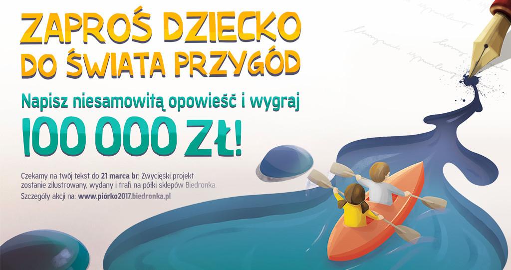 Konkursu Literacki Piórko 2017